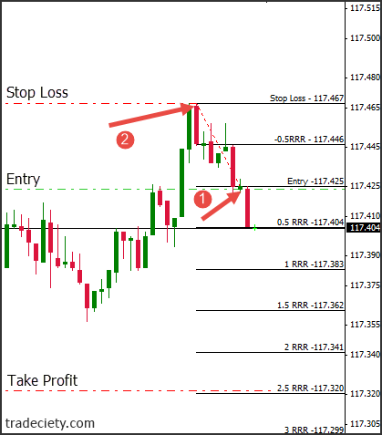 100 pips a day forex strategy