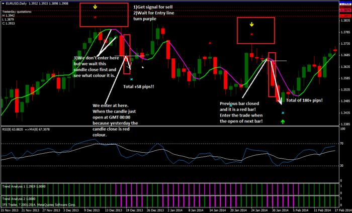 The forex 100 pips club